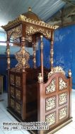 Mimbar Kubah Furniture Minimalis Arabic